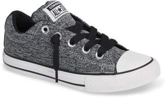 Converse R) Graphite Textured Street Low Top Sneaker