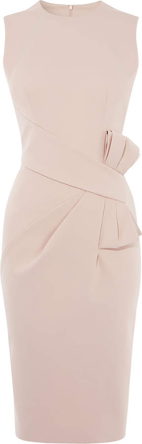 Karen Millen Bow Waist Midi Dress