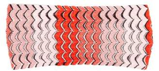 Missoni Mare - Fish Scale Knitted Headband - Womens - Red Multi