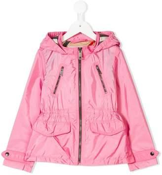 Burberry Check lining raincoat