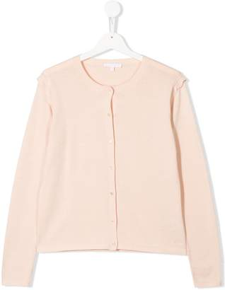 Chloé Kids long-sleeve fitted cardigan