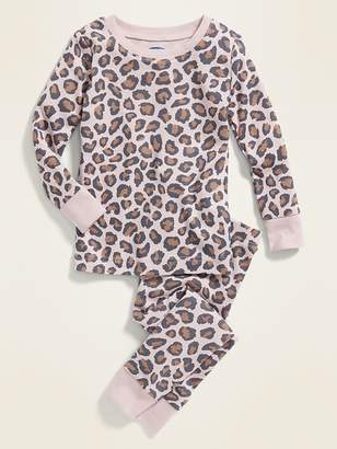 Old Navy Leopard-Print Sleep Set For Toddler & Baby