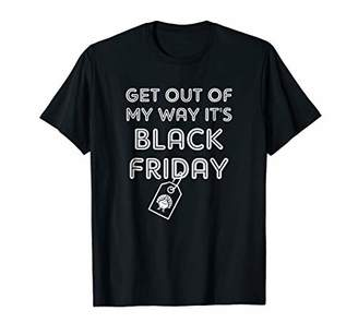 Funny Get Out Of My It's Way Friday Shirt