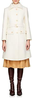 Chloé Women's Wool-Blend Melton Belted Coat