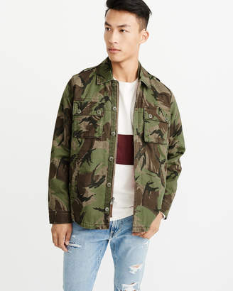 Abercrombie & Fitch Military Shirt Jacket