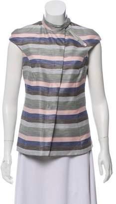 Emporio Armani Structured Striped Vest
