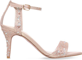 Carvela Kollude embellished satin sandals