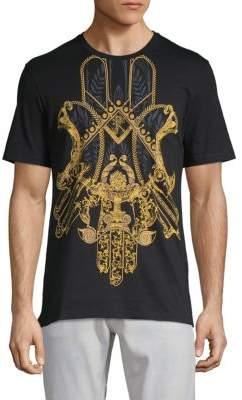 Versace Crest Graphic T-Shirt