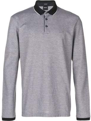 e77ce05b Hugo Boss Long Sleeve Polo Shirts - ShopStyle UK