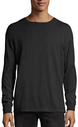 Hanes Long Sleeve Crew Neck T-Shirt