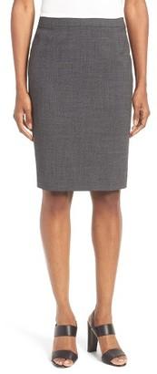 Women's Boss Vimena Stretch Wool Pencil Skirt $295 thestylecure.com