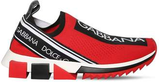 Dolce & Gabbana 30mm Sorrento Knit Sneakers