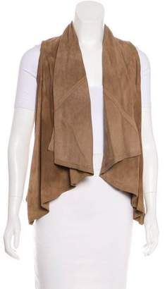 Torn By Ronny Kobo Suede High-Low Vest