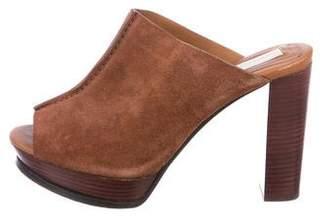 See by Chloe Suede Slide Sandals