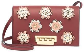 Zac Posen Earthette Hex Floral Crossbody Bag
