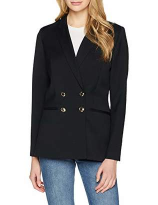 Dolores Promesas Women's 7351 Suit Jacket, Black Negro, (Size: 40)