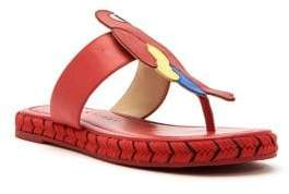 Katy Perry Yasuni Parrot Thong Sandals