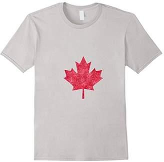 DAY Birger et Mikkelsen Glitter Canadian T-Shirt Red Maple Leaf Canada Celebrate