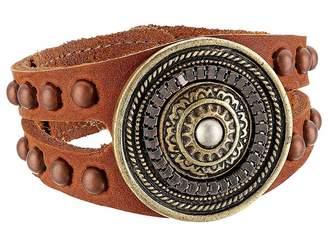Leather Rock Aida Bracelet