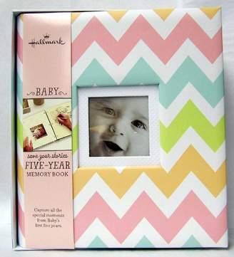 Hallmark Chevrons Girl 5 Year Memory Album