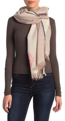 Madewell Textured Design Geo Scarf