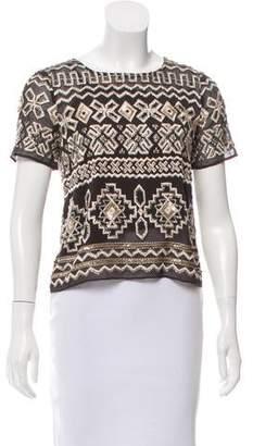 Needle & Thread Lace Stitch Crop Top