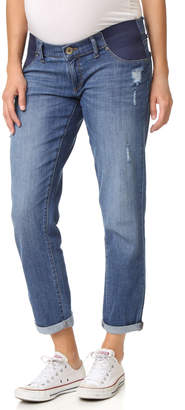 DL1961 Riley Maternity Boyfriend Jeans $178 thestylecure.com