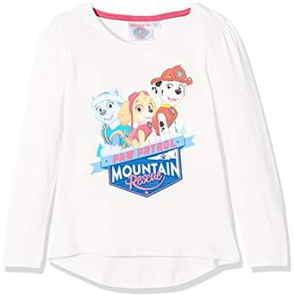 Nickelodeon Girl's Paw Patrol Mountain Rescue T-Shirt,(Manufacturer Size: 3 Years)