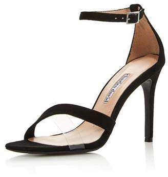 Charles David Women's Courtney Translucent High-Heel Sandals