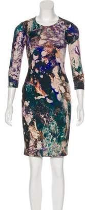 Hunter Bell Knee-Length Bodycon Dress