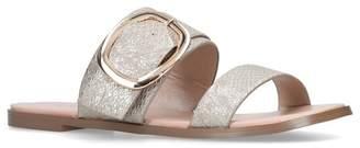 Nine West Gold 'Serena' Flat Sandals