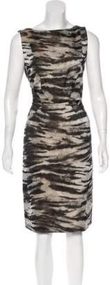 Lanvin Jacquard Knee-Length Dress