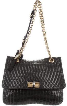 Lanvin Happy Medium Quilted Shoulder Bag $645 thestylecure.com