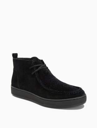 Calvin Klein nero suede boot