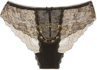 Hanky Panky Women's Rose D'or V-Front Brief