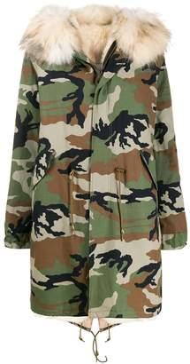 Furs66 camouflage parka