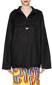 Prada Women's Tech-Twill Anorak - Black