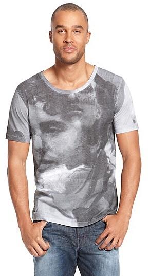 HUGO BOSS Dubilee Cotton Graphic Print T-Shirt - White