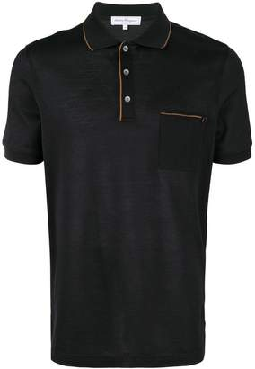 Salvatore Ferragamo chest pocket polo t-shirt