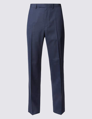 Marks and Spencer Indigo Textured Skinny Fit Trousers