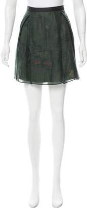 Maiyet Pleated Mini Skirt