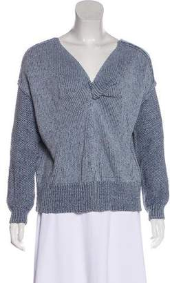 Rebecca Minkoff Scoop Neck Knit Sweater