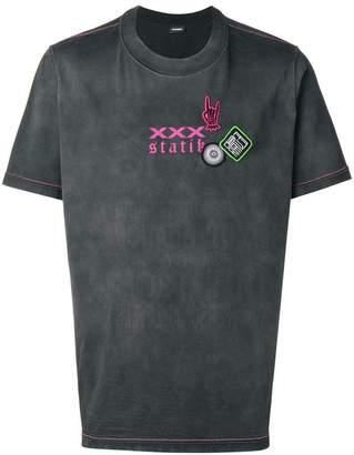 Diesel treated effect T-shirt