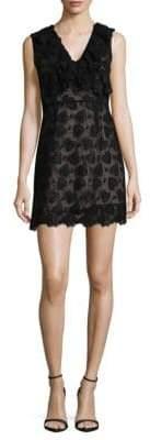 Miu Miu Lace Sleeveless Mini Dress