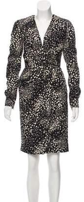 Salvatore Ferragamo Jacquard Knee-Length Dress