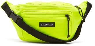 Balenciaga Logo Belt Bag - Mens - Green