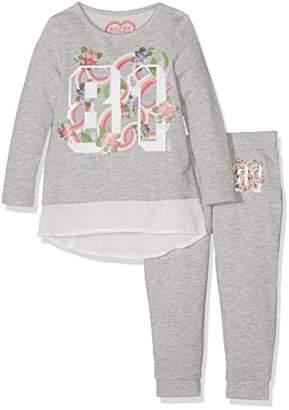 GUESS Girls' K73G04K5WJ0 Clothing Set,(Manufacturer Size: 4)