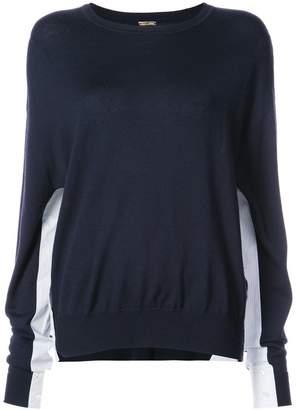 ADAM by Adam Lippes gusset sweater