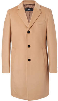 HUGO BOSS Virgin Wool And Cashmere-Blend Coat