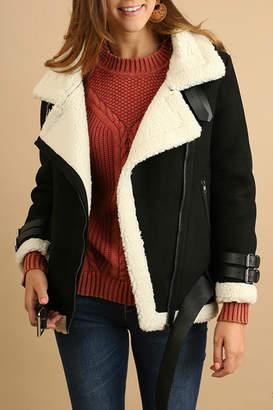 Umgee USA Zipper-Front Short Coat